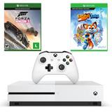 Combo Xbox One S 500gb + Forza Horizon 3 + Super Luckys Tale