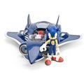 Sonic Con Avión All-stars Racing Transformed Jazwares