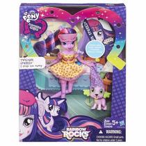 Muñecas Little Pony Coleccion Equestria Y Rainbow Rocks