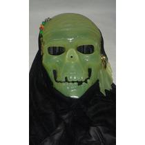 Mascara Calavera Pirata Que Brilla En La Oscuridad Disfraces