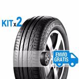 Kit 2u 205/65 R15 94 H Turanza T001 Bridgestone Envío $0