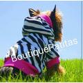 Sueter Para Perros Con Estampado De Zebra Animal Print
