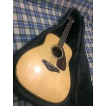 Guitarra Acústica Yamaha Fg730s Y Forro Semi-duro Yamaha