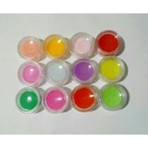 Coleccion Polvo Acrílicos De Colores Uñas Acrilicas Nailart