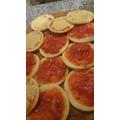 Mini Pizzetas Para Cumpleaños Y Eventos