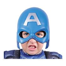 Carnavalito Mascara Del Capitán América Niño