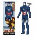 Muñeco Iron Patriot 30cm Serie Titan Hero Hasbro