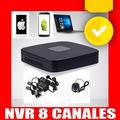 Nvr 8canales El Mejor P/camaras Ip De Seguridad Exterior Kit