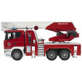 Bruder Vehicle Scania, Series Fire Engine With Ladder, Water