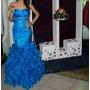 Vendo Vestido De 15 Años Moderno Corte Sirena Cola Removible