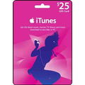 Itunes Gift Card Usd 25