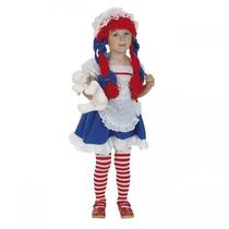 Disfraz Bebe Talla 1 Muñeca Muñequita De Trapo Niña