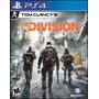 Tom Clancys The Division Ps4 Nuevo Domicilio - Jxr