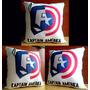 Cojín Super Héroes- Avengers Capitán América 40x40