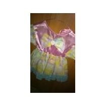 Disfraz Para Niña De Muñeca. Talla 4