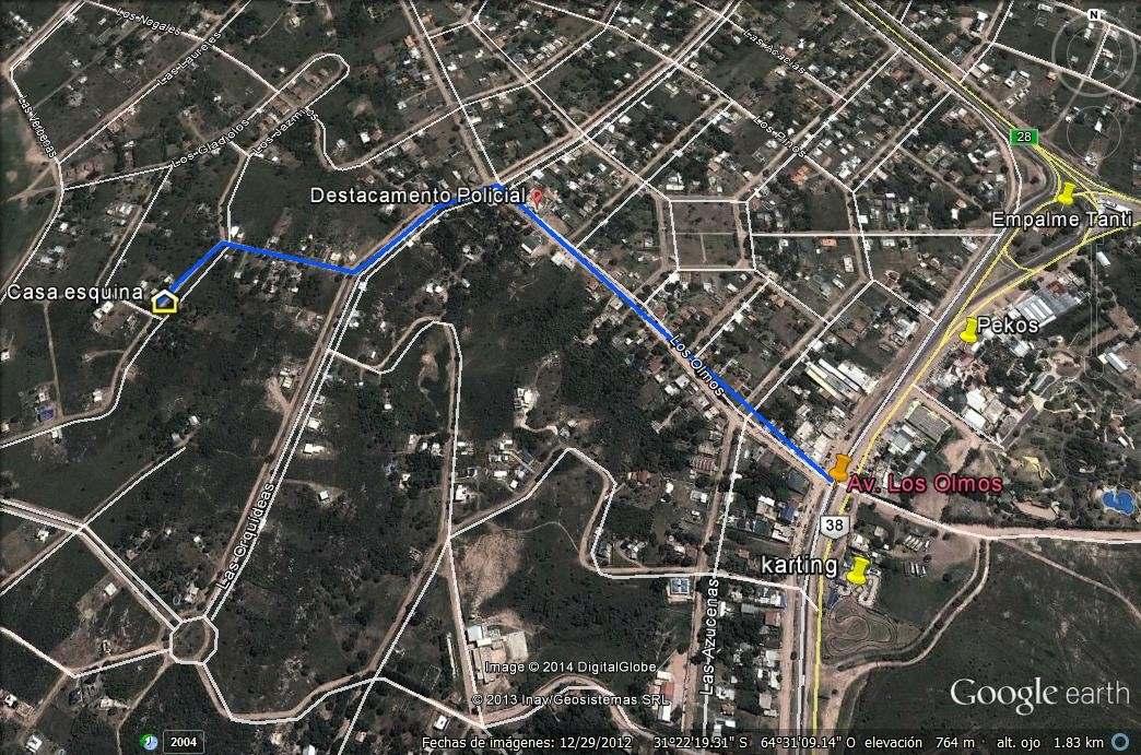 a 6km villa carlos paz, para 4a8 personas (pileta exclusiva)