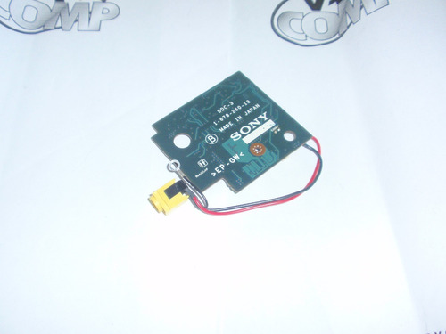 a-8066-723-a - complete pwb ddc-3 dc jack board sony vgn-sr