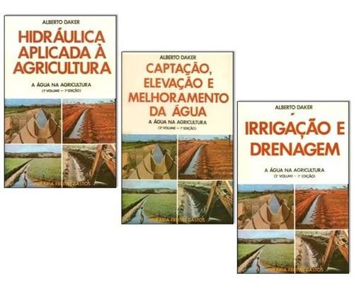 a água na agricultura coleção engenharia hidráulica 1987
