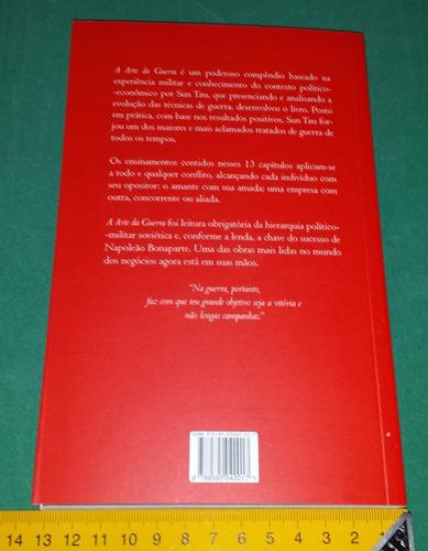 a arte da guerra - sun tzu - livro novo - clássico