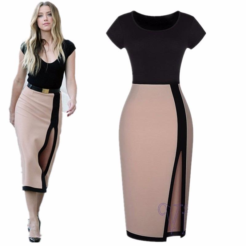 comprar online online para la venta sobornar auténtico A B Vestido Sexy Para Salir Mujeres