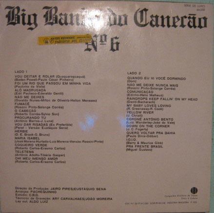 a banda do canecão - nº 6 - 1970