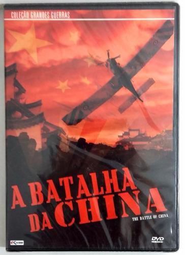 a batalha da china - dvd original lacrado!