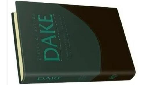 a bíblia de estudo dake capa luxo grande editora atos