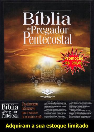 a bíblia do pregador pentecostal