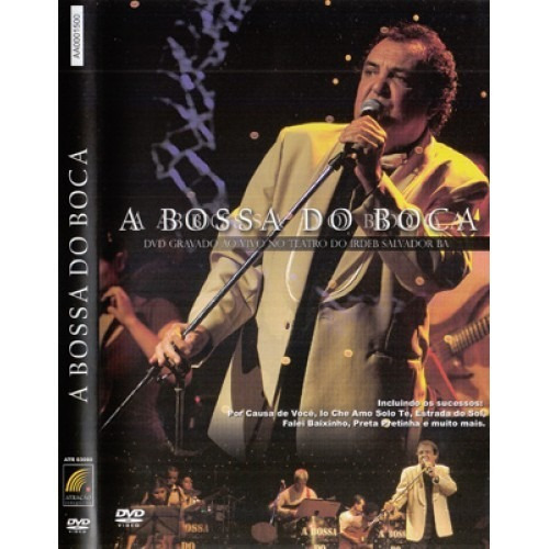 a bossa do boca dvd