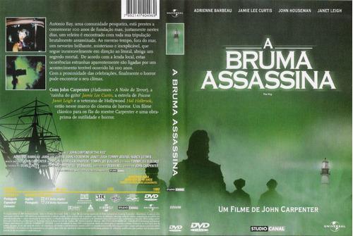 a bruma assassina - edição universal dvd original novo