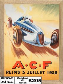 A C F Reims 1938, Cuadro, Poster, Publicidad B205