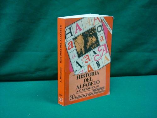 a. c. moorhouse, historia del alfabeto