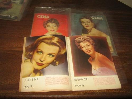 a cena muda ano:1954 lote com 8 edições editora americana