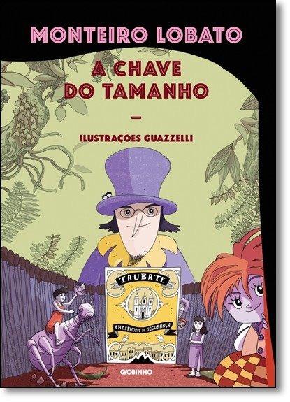 6123a37de A Chave Do Tamanho Livro Monteiro Lobato - R  53