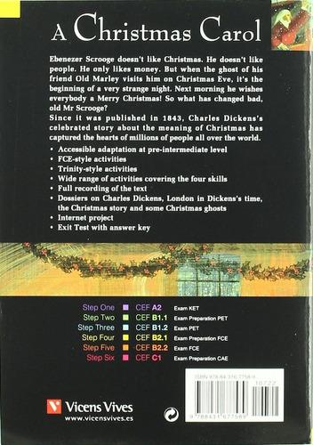 a christmas carol - b2.1 - r & t vicens vives w/cd rincon 9