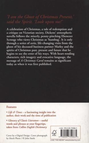 a christmas carol - charles dickens - harper collins