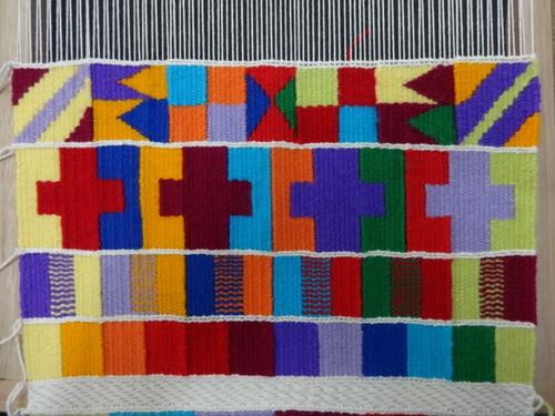 a clase de tapiz y telar