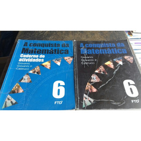 A Conquista Da Matemática 6 - Aluno - 2015