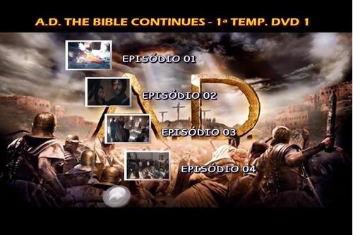 a d the bible continues 1ª temporada dublado leg + ft grátis