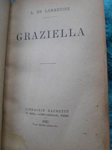 a. de lamartine - graziela 1923 hachete paris tapas duras