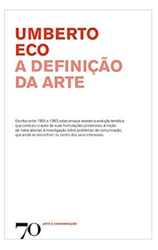 a definição da arte - eco