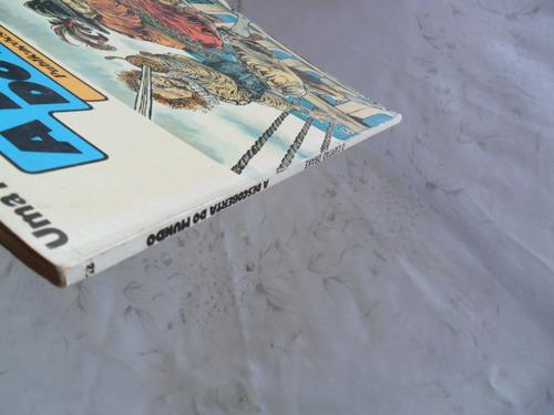 a descoberta do mundo nº 12! desenhos de crepax e poivet!!