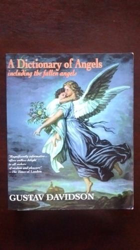 a dictionary of angels - gustav davidson - free press
