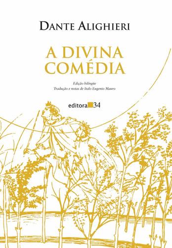 a divina comédia - 3 vols - dante alighieri -ed. 34 - novo