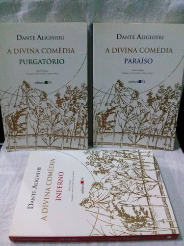 a divina comédia - 3 volumes -  dante alighieri