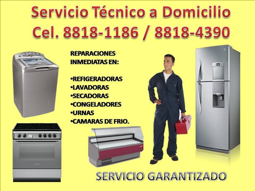 a domicilio reparo lavadoras refrigeradora expecializados