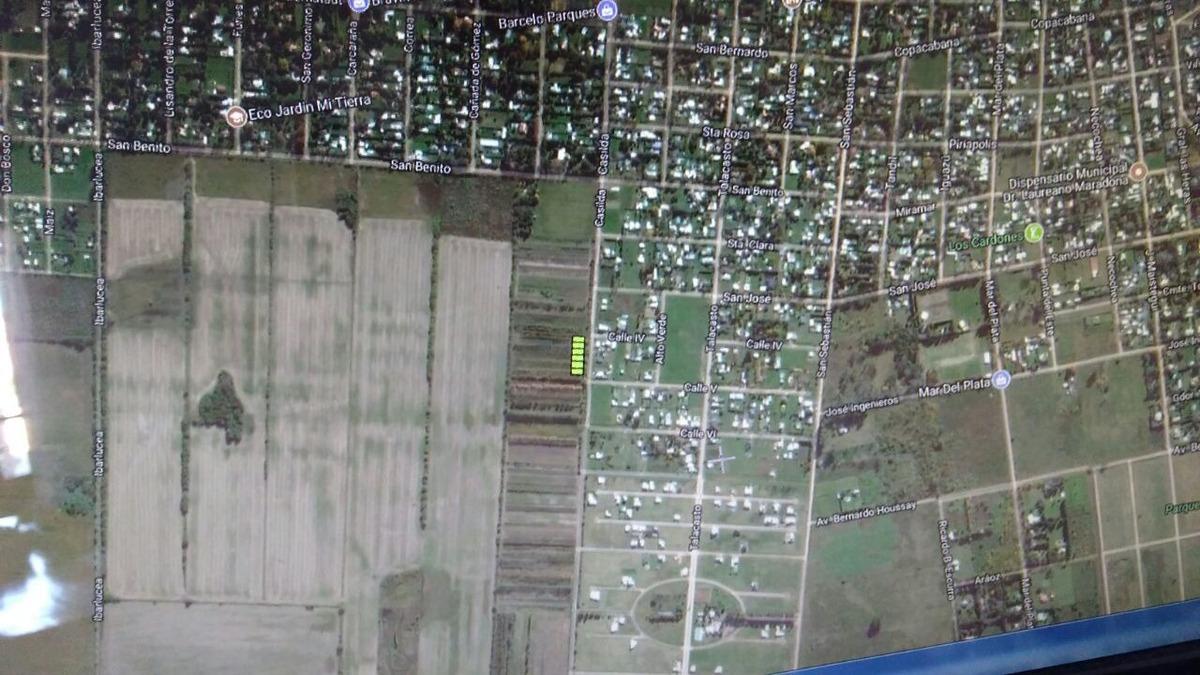 a dueño vende terreno roldán - (3416175521/3412126453)