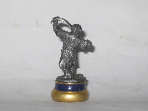 a el señor de los anillos pieza ajedrez figura plomo mide5cm