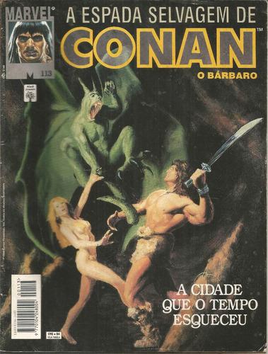 a espada selvagem de conan o bárbaro n. 113 -  abril 1994