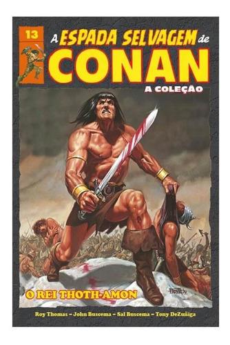 a espada selvagem de conan - volume 13 - capa dura